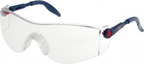 3M 2730 Schutzbrille AS/AF/UV, PC, klar, einstellbare Bügellänge