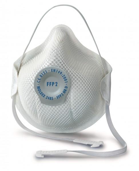 Moldex Smart 2485 FFP2 Atemschutzmaske mit Klimaventil® (20 Stück Verpackung)