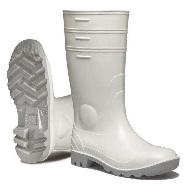 NORA Mint PVC/Nitril-Stiefel Gummistiefel 102239, weiß, Lebensmittelgeeignet