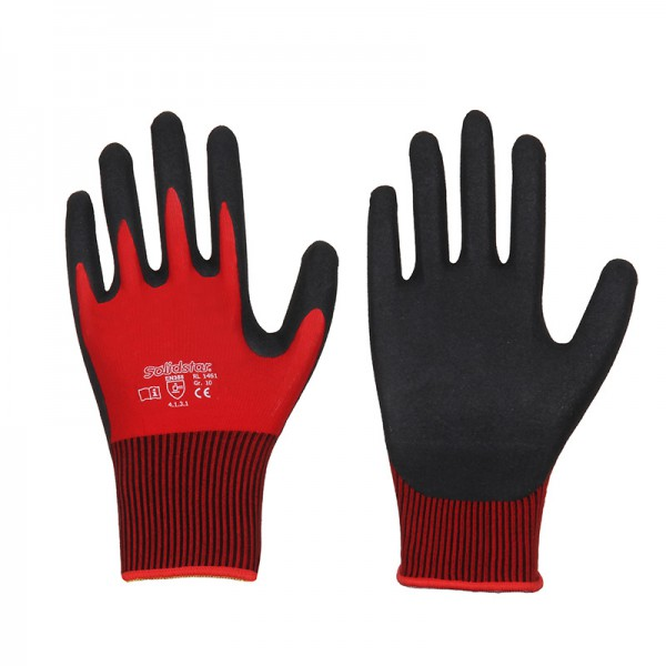 Solidstar Nitril - Grip 1461 Handschuhe