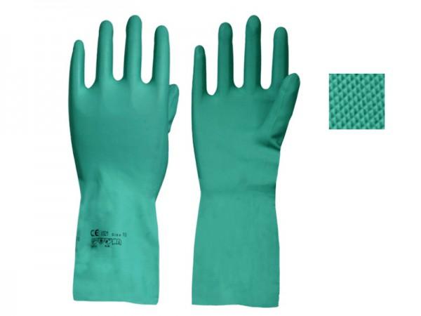 Chemikalien-Handschuhe 1341, Nitril , EN388, EN 374-3, EN 374-2 (12 Paar)