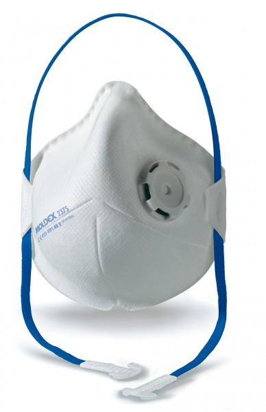Moldex Smart Pocket 2375 FFP1 Faltmaske mit Klimaventil® (10 Stück Verpackung)