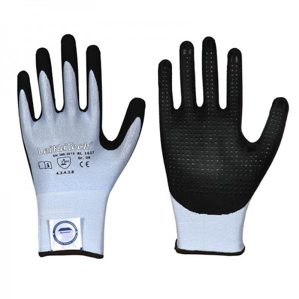 Dyneema Diamond Schnittschutz Handschuh 1627, Nitril, Level 3 mit Noppen