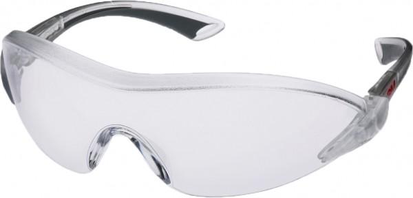 3M 2840 Schutzbrille AS/AF/UV, PC, 5 Farben auswählbar, einstellbare Bügellänge und -neigung, [ae]so