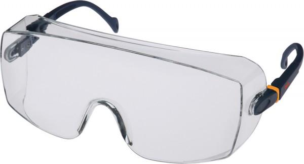 3M 2800 Schutzbrille AS, UV, PC, klar, über Korrektionsbrillen und/oder für Besucher
