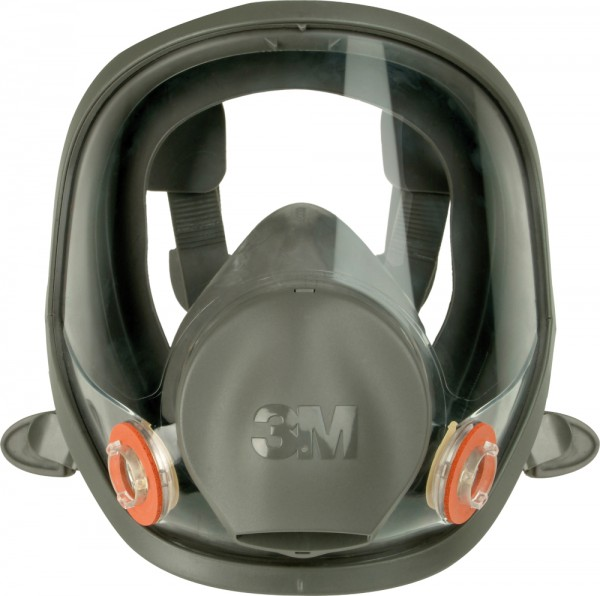 3M 6000V Atemschutzvollmaskenkörper, Gr.S/M/L (6700, 6800, 6900)