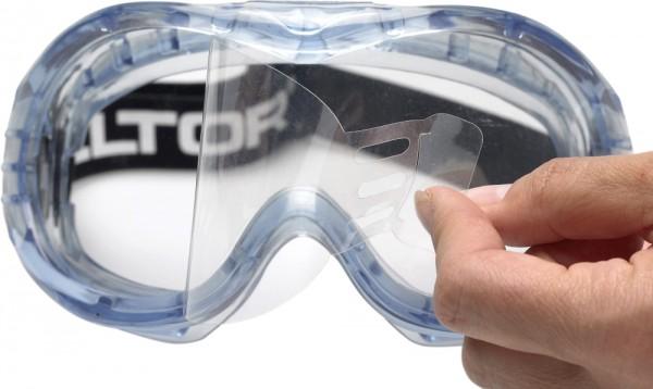 3M FAHRENHEIT Vollsichtbrille T-N-Wear Schutzbrille AS/AF/UV/A, PC, klar, TNWear Film Indirekte Bel