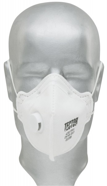 TECTOR 4206 FALTMASKE FFP3 mit Ausatemventil (3 Stück)