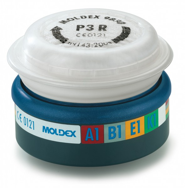 "Moldex 9430 Kombifilter ABEK1P3 (EasyLock) ""für Serie 7000 & 9000"""