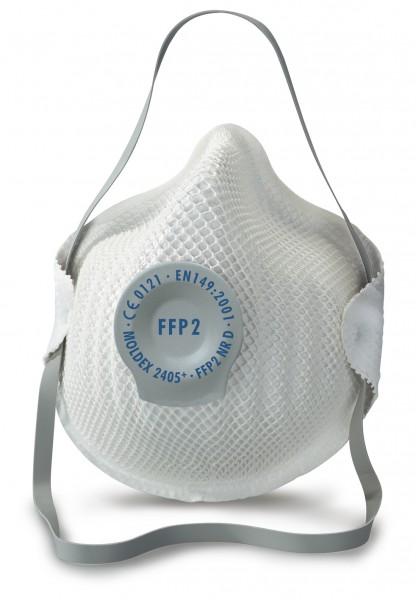 Moldex 2405 FFP2 Atemschutzmaske mit Klimaventil® (20 Stück Verpackung)