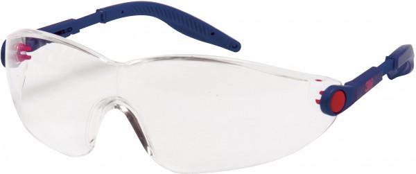 3M 2740 Schutzbrille AS/AF/UV, PC, klar, einstellbare Bügellänge