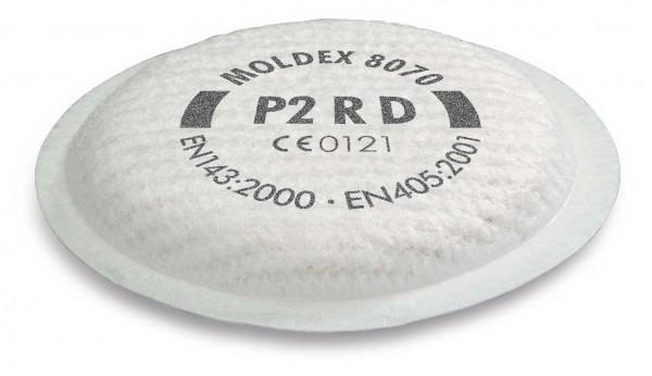 """Moldex 8070 Partikelfilter P2 R D """"für Maske der Serie 5000 & 8000""""-Copy"""