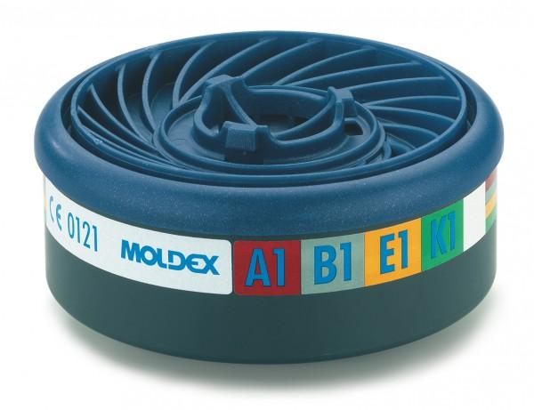 """Moldex 9400 Gasfilter ABEK1 (EasyLock) """"für Masken der Serie 7000 & 9000"""""""