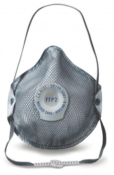 Moldex Smart 2445 FFP2 NR D Spezial Atemschutzmaske + Schutz vor Ozon und Schweißrauch mit Klimavent