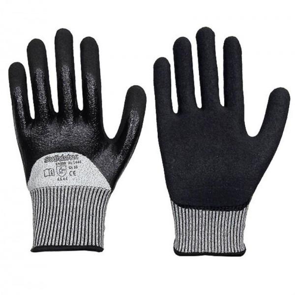 Solidstar Schnittschutz Handschuh 1444, Nitril-Duo, Level 5