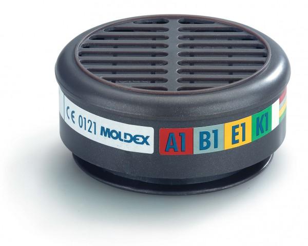 """Moldex 8900 Gasfilter ABEK1 """"für Maske der Serie 8000"""""""