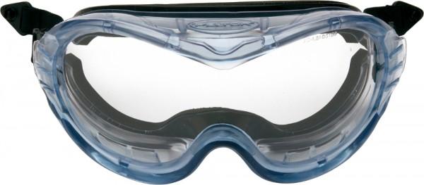 3M FAHRENHEIT Vollsichtbrille Schutzbrille für Peltor Helme AS/AF/A, klar, Schaumstoff