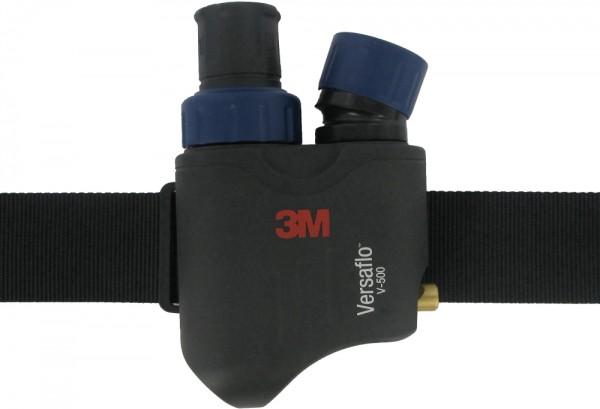 3M V-500E Druckluftregler komplett mit Gürtel