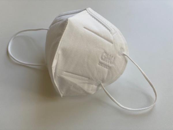 KN95 (FFP2) Atemschutzmaske weiß