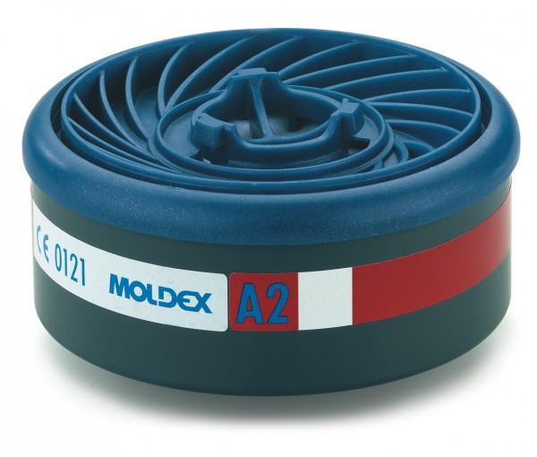 """Moldex 9200 Gasfilter A2 (EasyLock) """"für Masken der Serie 7000 & 9000"""""""