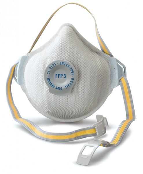 Moldex Air Plus 3405 FFP3 Atemschutzmaske mit Klimaventil®