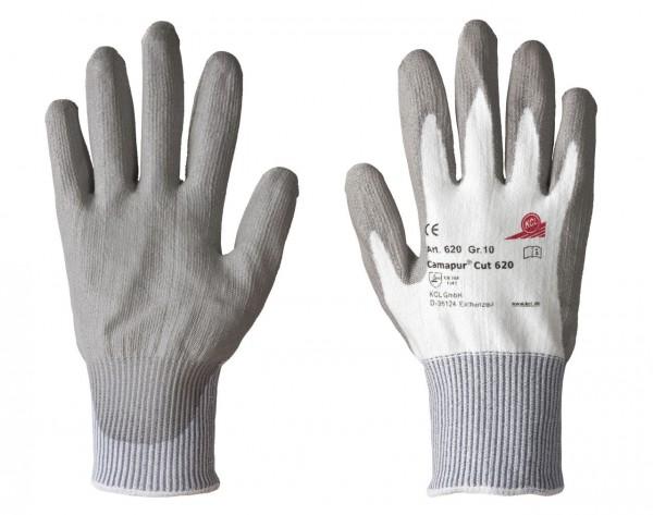 KCL 620 Camapur Cut Schutzhandschuhe Schnittschutz grau(10 Paar)