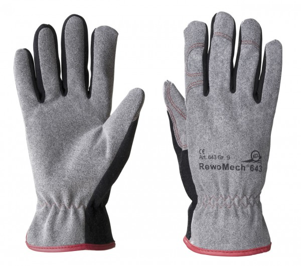 KCL 643 RewoMecht Schutzhandschuhe universal Stulpe (10 Paar)