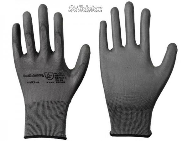 Solidstar 1327 Feinstrick-Handschuh mit PU-Beschichtung grau (12 Paar)