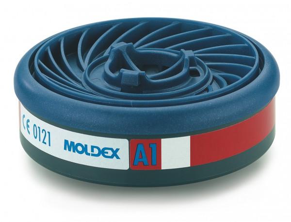 """Moldex 9100 Gasfilter A1 (EasyLock) """"für Masken der Serie 7000 & 9000"""""""
