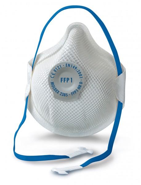 Moldex Smart 2385 FFP1 Atemschutzmaske mit Klimaventil® (20 Stück Verpackung)