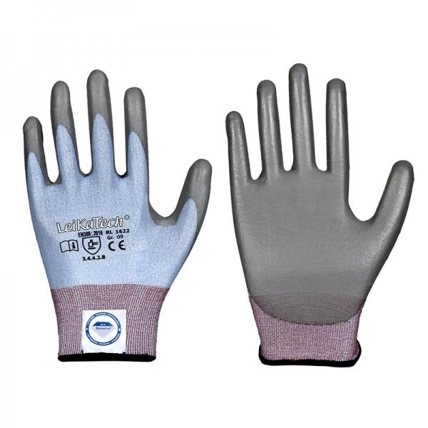 Dyneema Diamond Schnittschutz Handschuh 1622, PU, Level 4