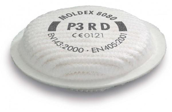 """Moldex 8080 Partikelfilter P3 R D """"für Maske der Serie 5000 & 8000"""""""