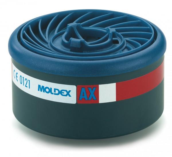"""Moldex 9600 Gasfilter AX (EasyLock) """"für Masken der Serie 7000 & 9000"""""""