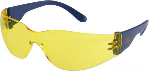 3M 2722 Schutzbrille AS/AF/UV, PC, gelb getönt