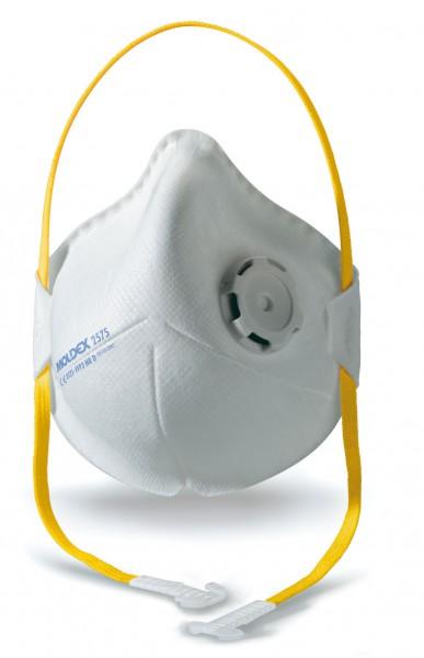 Moldex Smart Pocket 2575 FFP3 Faltmaske mit Klimaventil® (10 Stück Verpackung)