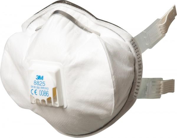 3M 8825 Atemschutzmaske FFP2 RD mit Cool Flow Ausatemventil (5 Stck. Packung)