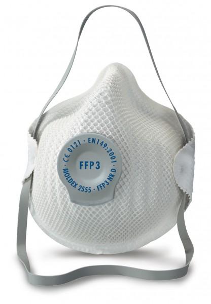 Moldex 2555 FFP3 Atemschutzmaske mit Klimaventil® (20 Stück Verpackung)
