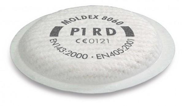 """Moldex 8060 Partikelfilter P1 R D """"für Maske der Serie 5000 & 8000"""""""