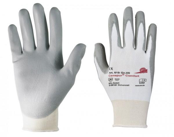 KCL 619 Camapur Comfort Schutzhandschuhe grau (10 Paar)