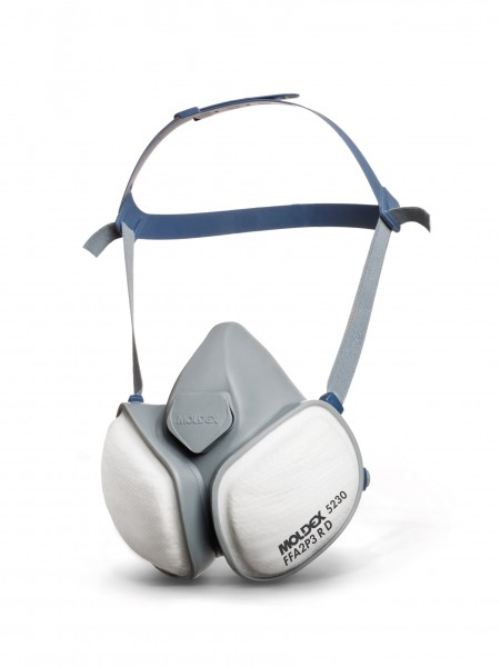 Moldex 5230 FFA2P3 R D Wartungsfreie Atemschutzhalbmaske CompactMask