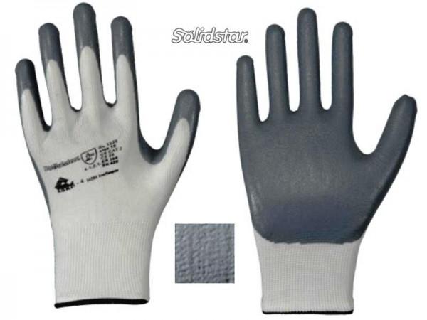 Solidstar Nylon-Feinstrick-Handschuh mit Nitril-Schaum-Beschichtung 1329
