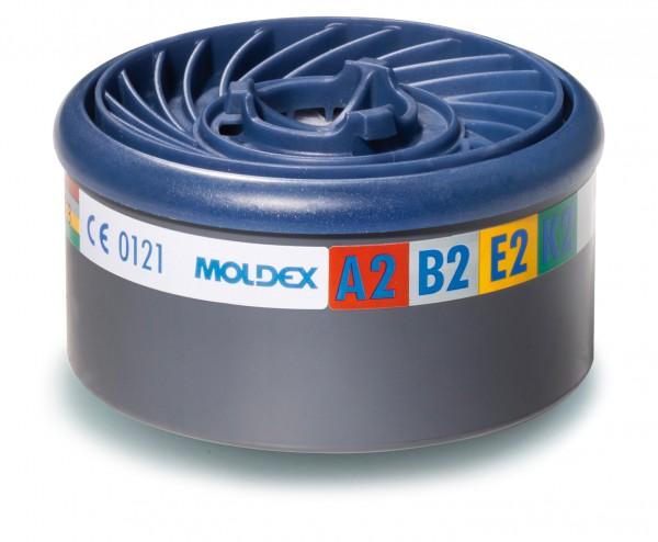 """Moldex 9800 Gasfilter ABEK2 (EasyLock) """"für Masken der Serie 7000 & 9000"""""""