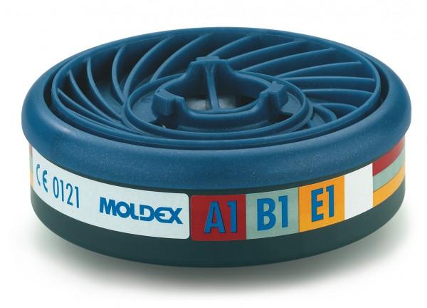 """Moldex 9300 Gasfilter ABE1 (EasyLock) """"für Masken der Serie 7000 & 9000"""""""